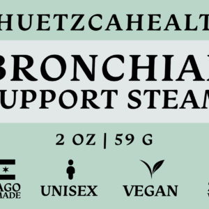 Label of Bronchial Support Steam